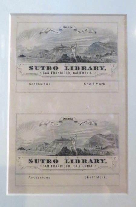 sutro bookplates